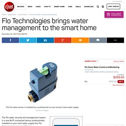 Flo smart water monitoring system watches your water