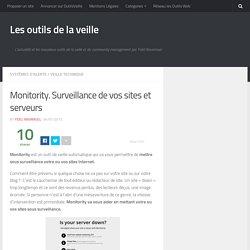Monitory. Surveillance de vos sites et serveurs