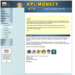 xPL Monkey - Home Automation - xPLHub