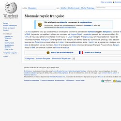 Monnaie royale française