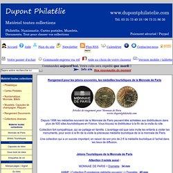 Monnaie de Paris - Jetons Touristiques de la Monnaie de Paris