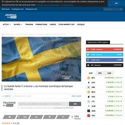 La Suède teste l'«e-krona», sa monnaie numérique de banque centrale
