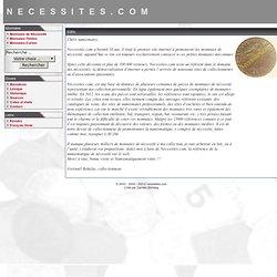 Les Monnaies de Nécessité - Necessites.com