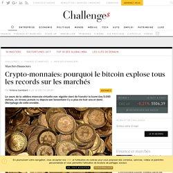 Crypto-monnaies: pourquoi le bitcoin explose tous les records sur les marchés