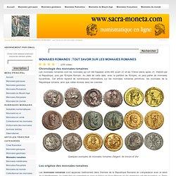 MONNAIES ROMAINES : tout savoir sur les monnaies romaines