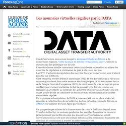 Les monnaies virtuelles régulées par le DATA