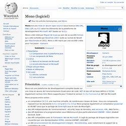 Mono (logiciel)