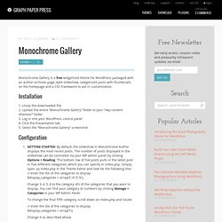 Monochrome Gallery