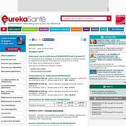 MONOCRIXO - EurekaSante.fr avec VIDAL