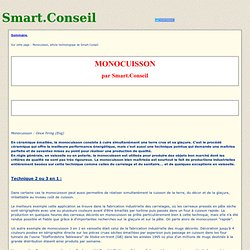 Monocuisson, article technologique de Smart.Conseil