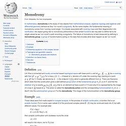 Monodromy