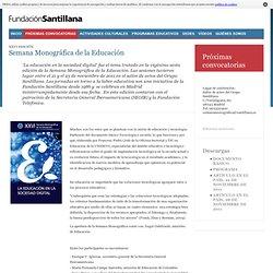 21 al 25 de noviembre: Semana Monográfica de la Educación
