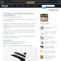 Monogram Logo: 75 Creative and Smart Designs