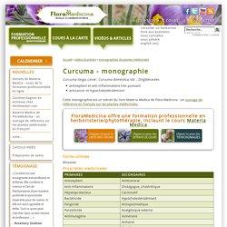 Curcuma - monographie