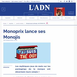 Monojis Monoprix - emojis Monoprix - marques et emojis