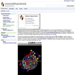 monolithandroid - Google Code