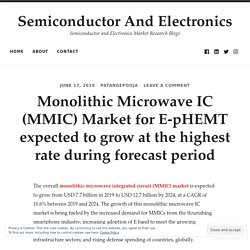 Monolithic Microwave IC (MMIC) Market for E-pHEMT expected to grow at the highest rate during forecast period