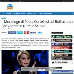 Il Monologo di Paola Cortellesi sul Bullismo da Far Vedere in tutte le Scuole