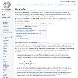 Monomère