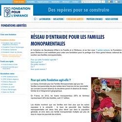 Réseau d'entraide pour les familles monoparentales - Fondation pour l'Enfance