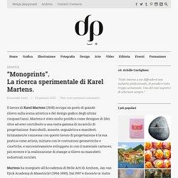 """Monoprints"". La ricerca sperimentale di Karel Martens."
