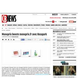 Monoprix booste monoprix.fr avec Rosapark