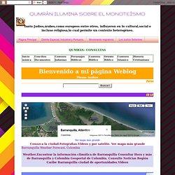 Marvel Moreno visualiza a Barranquilla.