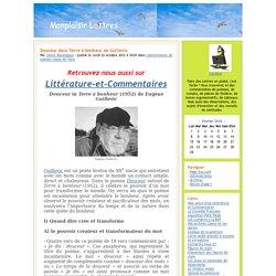 Monplaisir Lettres - Douceur dans Terre à bonheur de Guillevic