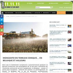Monsanto en terrain conquis… En Belgique et ailleurs