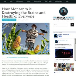 How Monsanto is Destroying the Brains and Health of Everyone