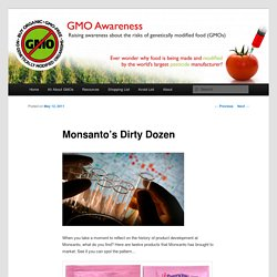 Monsanto's Dirty Dozen
