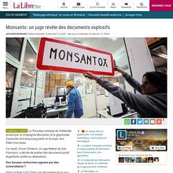 Monsanto: un juge révèle des documents explosifs