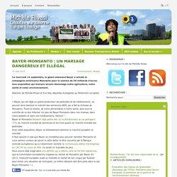 Bayer-Monsanto : un mariage dangereux et illégal