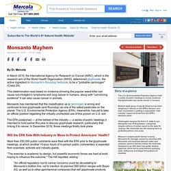 Monsanto Mayhem: Will the EPA Side With Industry?