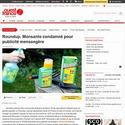 Roundup. Monsanto condamné pour publicité mensongère