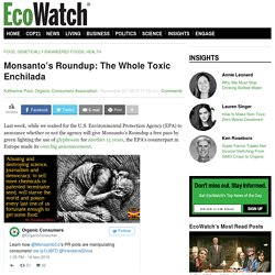 Monsanto's Roundup: The Whole Toxic Enchilada