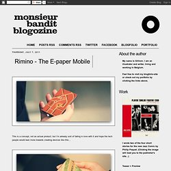 Rimino - The E-paper Mobile