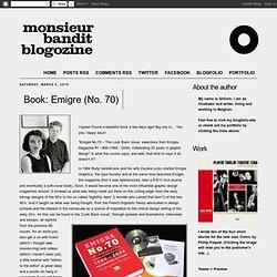Book: Emigre (No. 70)