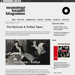 The Hitchcock & Truffaut Tapes