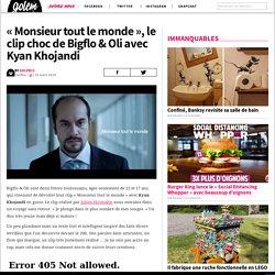 «Monsieur tout le monde», le clip choc de Bigflo & Oli avec Kyan Khojandi