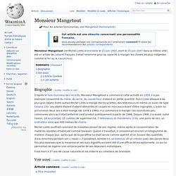 Monsieur Mangetout