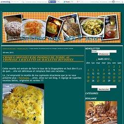 Croque-monsieur de pommes de terre au fromage à raclette ou raclette revisitée - Cuisiner avec ses 5 sens !