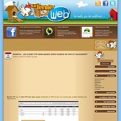Monsta - Un client FTP Web-based open source en PHP et Javascript