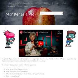Monster as a Pet