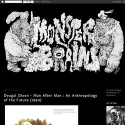 Dougal Dixon - Man After Man : An Anthropology of the Future (1990)