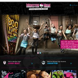 Monster High - Monster Videos, Games & Activities for Kids | Monster High