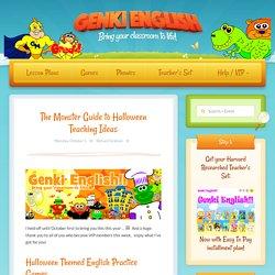 The Monster Guide to Halloween Teaching Ideas – Genki English