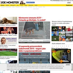 Joe Monster.org - Probably The Best Page In The Universe