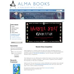 Monster Story Competition : Alma Books