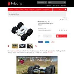 MonsterBorg - The Ultimate Raspberry Pi Robot